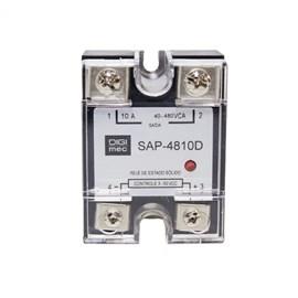 Relé de Estado Sólido SAP-4810D 10A 480VCA 3-32VCC Monofásico Digimec