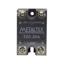 Relé de estado sólido TZC-25A 380VCA 4-32VCC Metaltex