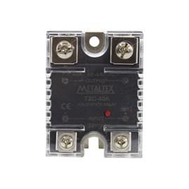 Relé de estado sólido TZC-40A 380VCA 4-32VCC Metaltex