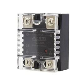 Relé de estado sólido TZC-80A 530VCA 4-32VCC Metaltex
