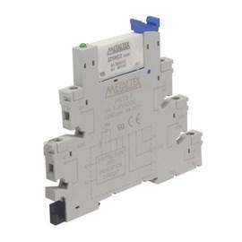 Relé de Interface PRZ-1R Conjunto Relé JZ1RC2+PRT8-1 12VAC/VDC 6A Metaltex