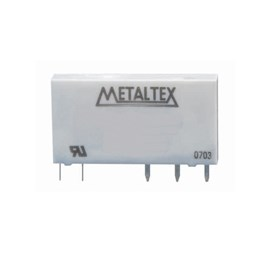 Relé de Potência Miniatura 24VCC 6A Metaltex