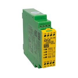 Relé de Segurança CP-D 24VCC 3NA+1NF para Emergência Reset Manual Weg