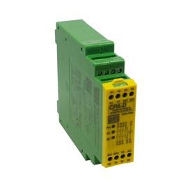 Relé de Segurança CPA-D 24VCC 3NA+1NF Parada de Emergência Reset Automático WEG