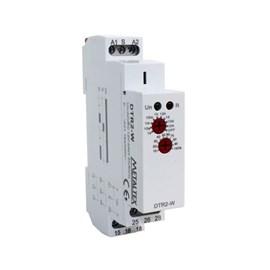 Relé de Tempo Retardo de Energização DTR2-W 0.1SEG-240HRS 12-240VCA/CC Metaltex
