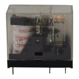 Relé Miniatura 220vca 10A Metaltex