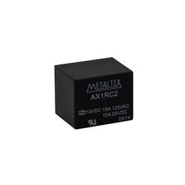 Relé Miniatura de Potência 1 REV. 15A 12VCC Metaltex