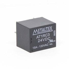Relé Miniatura de Potência 1 REV. 15A 24VCC Metaltex