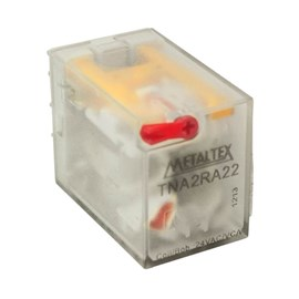 Relé Subminiatura 10A TNA2RA22 24VCA Metaltex