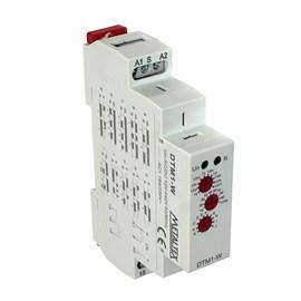 Relé Tempo Multifunção DTM1-W 100HS 12-240VCA/CC Metaltex