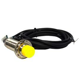Sensor Cilíndrico Capacitivo C18-8-DNC NPN NA+NF 10-360VCC SN8mm Metaltex
