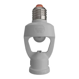Sensor De Presença Bocal Fotocélula E27 Bivolt Exatron