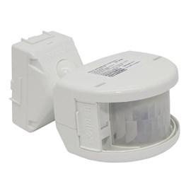 Sensor de Presença Externo Bivolt Branco Exatron