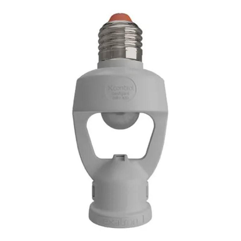 Sensor de Presença Fotocélula para Soquete E27 Bivolt Exatron
