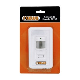 Sensor de Presença Interno 4x2 Bivolt Foxlux