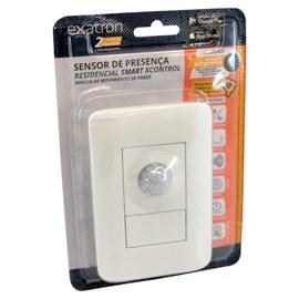 Sensor de Presença Smart XControl BIVOLT 4x2 Branco Exatron
