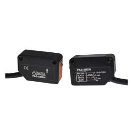 Sensor Fotoelétrico Barreira NPN 5 Metros Metaltex