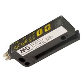 Sensor Fotoelétrico Forquilha Para Detecção De Etiquetas 3mm Infravermelho NPN/PNP M8 10kHz Metaltex