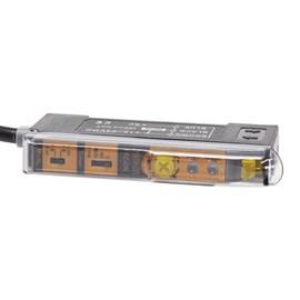 Sensor Fotoelétrico para Fibra Ótica NPN 24VCC PZ-DN Metaltex