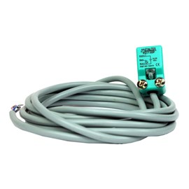 Sensor Indutivo Quadrado 5MM PNP 10-30VCC PQ17-5DP Metaltex