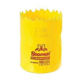 """Serra Copo Bimetal Fast Cut 41mm 1.5/8"""" Starrett"""