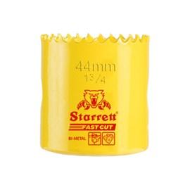 """Serra Copo Bimetal Fast Cut 44mm 1.3/4"""" Starrett"""