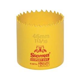 """Serra Copo Bimetal Fast Cut 46mm 1.13/16"""" Starret"""