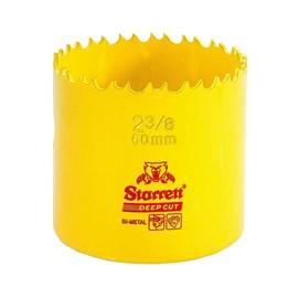 """Serra Copo Bimetal Fast Cut 60mm 2.3/8"""" Starrett"""