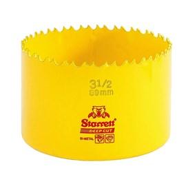 """Serra Copo Bimetal Fast Cut 89mm 3.1/2"""" Starrett"""