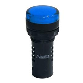 Sinaleiro LED L20-R1-BLP Azul Puro 110V Metaltex
