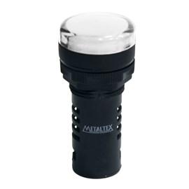 Sinaleiro LED L20-R2-WP Branco 220V Metaltex