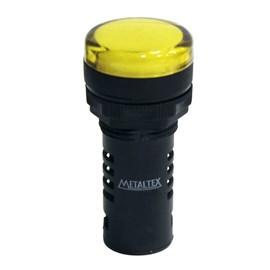 Sinaleiro LED L20-R2-Y Amarelo 220V Metaltex