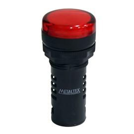 Sinaleiro LED L20-R7-R Vermelho 24V Metaltex