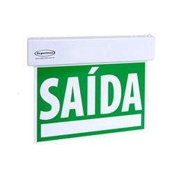Sinalizador de Saída Slim DF Verde Segurimax
