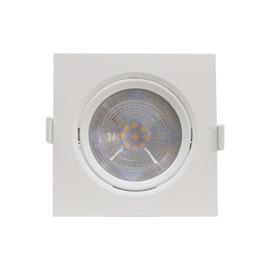 Spot de Embutir LED 10W Luz Amarela Bivolt Quadrado Startec