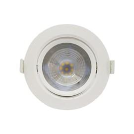 Spot de Embutir LED 10W Luz Amarela Bivolt Redondo Startec