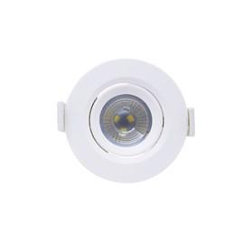 Spot de Embutir LED 3W Luz Branca Bivolt Redondo Empalux