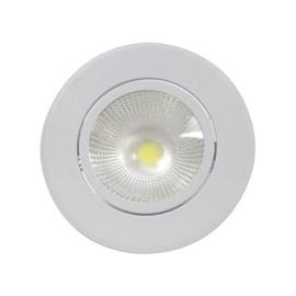 Spot de Embutir LED 5W Luz Branca Bivolt Redondo Empalux