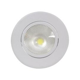 Spot de Embutir LED 5W Luz Branca Redondo Luminatti