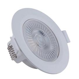 Spot de Embutir LED 5W Luz Neutra Bivolt Redondo Branco Startec