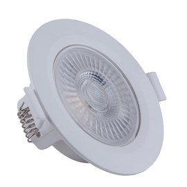 Spot de Embutir LED 5W Luz Neutra Bivolt Redondo Startec