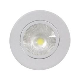 Spot de Embutir LED 6W Luz Amarela Bivolt Redondo Empalux