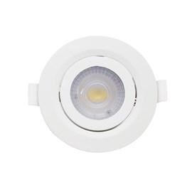 Spot de Embutir LED 7W Luz Branco Neutra Bivolt Redondo Branco Startec