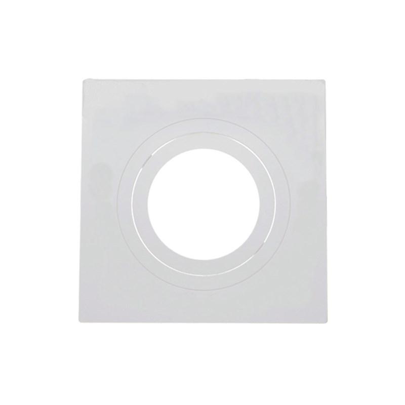 Spot de Embutir Quadrado AR 70 Branco Save Energy