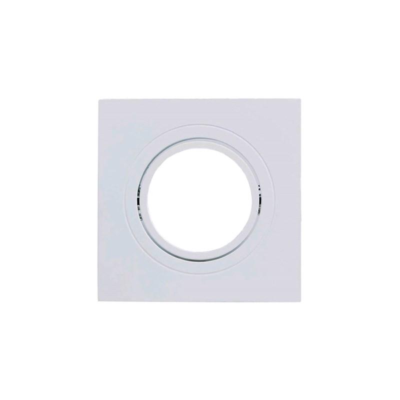 Spot de Embutir Quadrado Dicróica Branco Save Energy