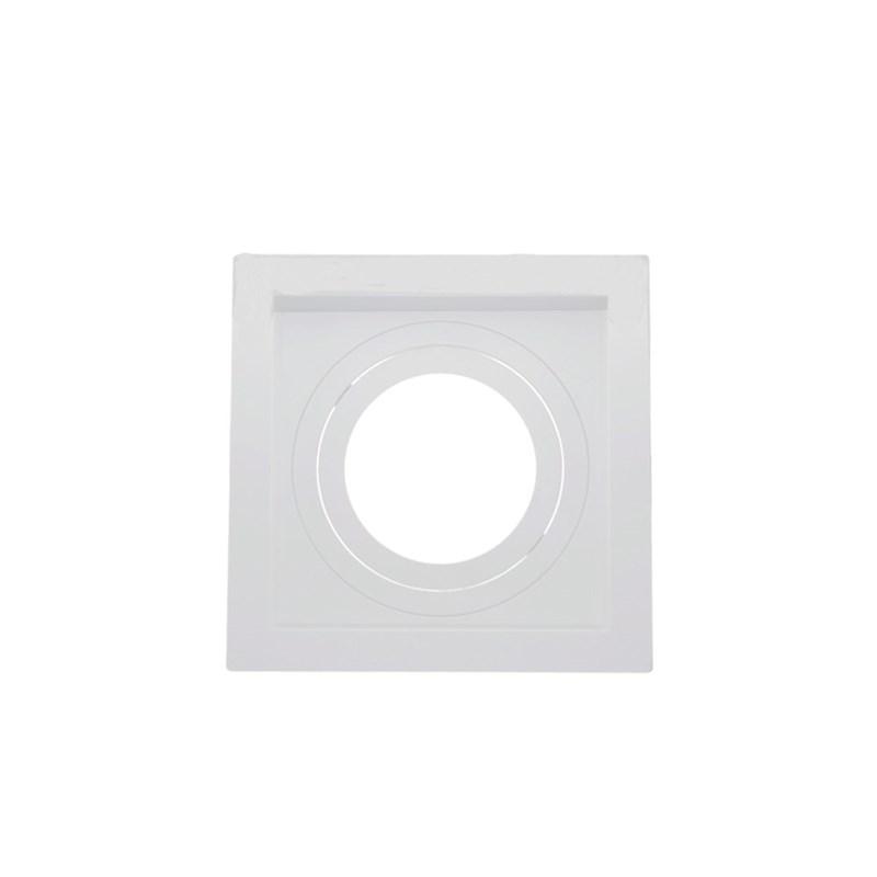 Spot de Embutir Quadrado Recuado PAR 20 Branco Save Energy