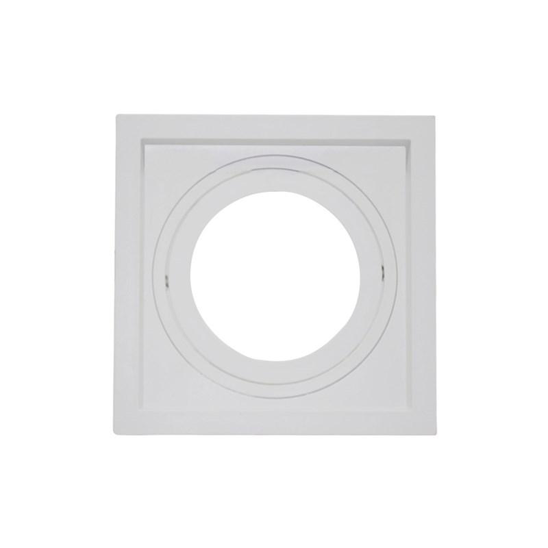 Spot de Embutir Quadrado Recuado PAR 30 Branco Save Energy