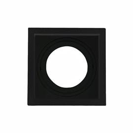 Spot de Embutir Quadrado Recuado PAR 30 Preto Save Energy