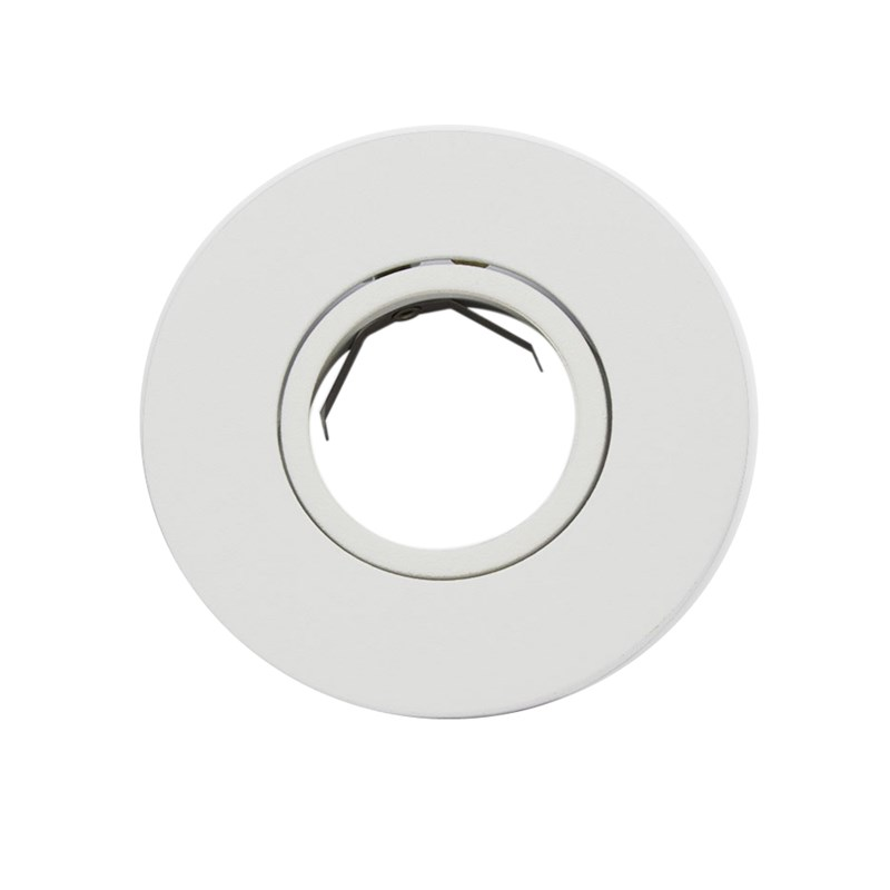 Spot de Embutir Redondo Dicróica Branco Interlight