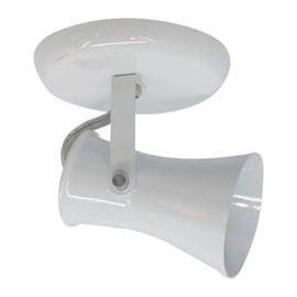 Spot de Sobrepor Cilíndrico Alumínio Branco JM Iluminação